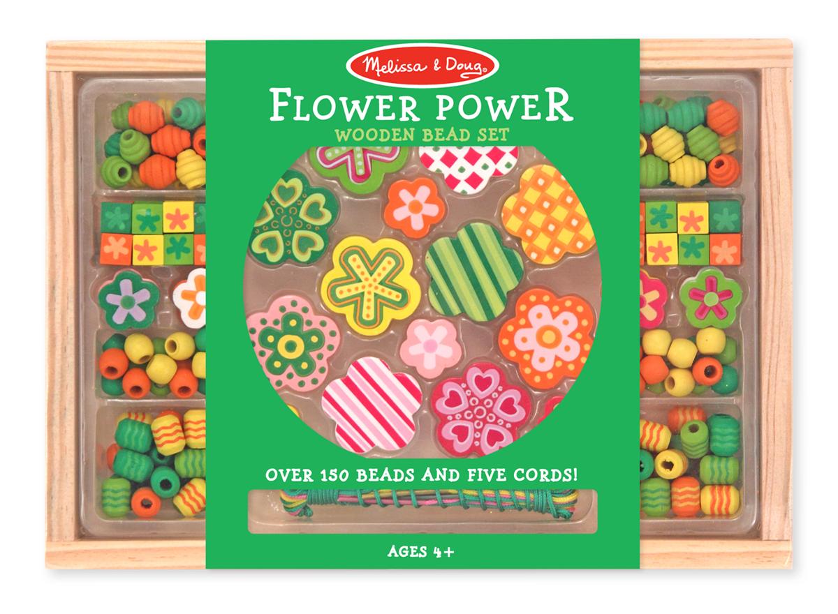 Flower Power Bead Set Melissa And Doug Toys