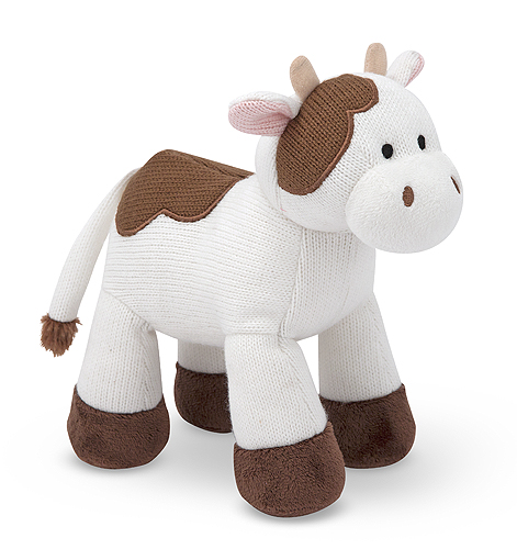 Melissa and Doug Sweater Sweetie Cow Stuffed Animal