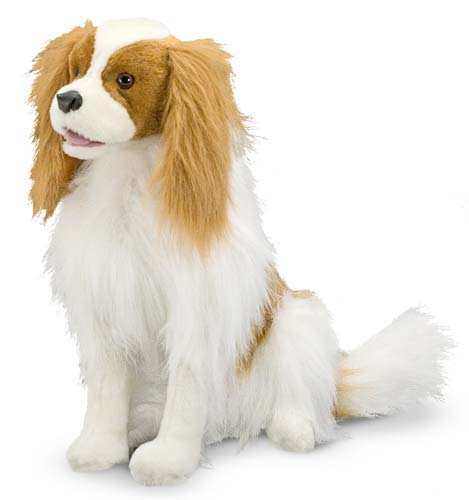 Melissa & Doug Cavalier King Charles Spaniel Dog Giant Stuffed Animal
