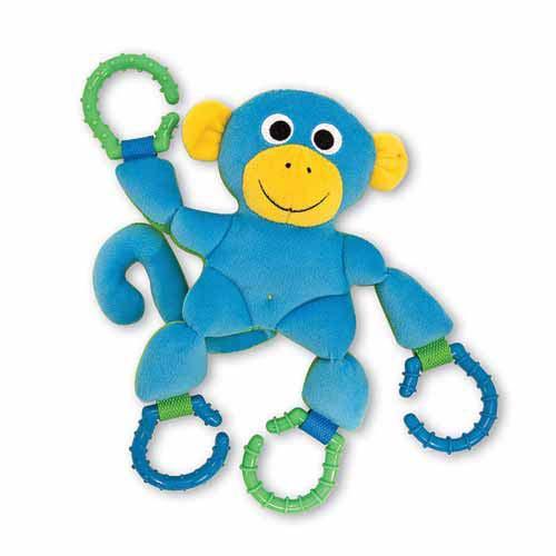 Melissa & Doug - Linking Monkey Baby Toy fa6b31cb5357bbc9e30554fa06ca36dd