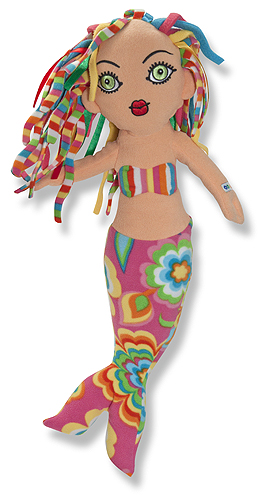 Beeposh Meri Mermaid Stuffed Toy