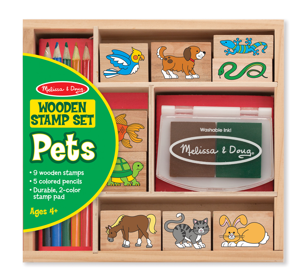 Melissa & Doug Pets Stamp Set 9363