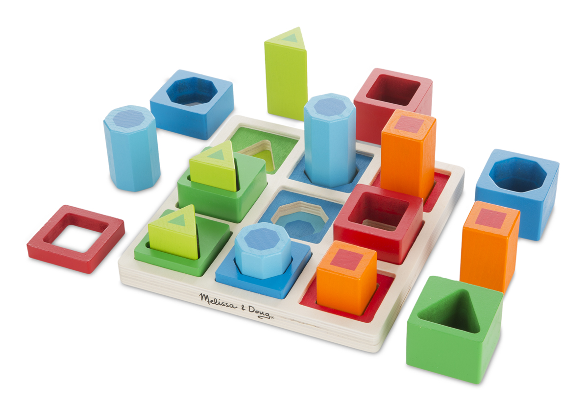 Shape Sequence Sorting Set Melissa And Doug Toys