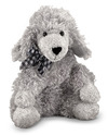 Curley Grey Poodle Puppy Dog Stuffed Animal