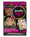 Scratch Art Activity Pad - Jewelry