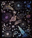 Scratch Art Scratch & Sparkle Glitter Board (30 boards)