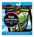 Scratch Art - Fish - Light Catcher Kit