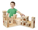 Folding Medieval Castle