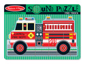 Fire Truck Sound Puzzle - 9 Pieces