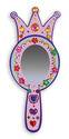 Decorate-Your-Own Wooden Princess Mirror