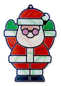 Stained Glass Made Easy - Santa & Tree Ornaments