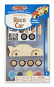 Decorate-Your-Own Wooden Race Car