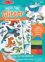 Mess Free Glitter - Ocean Foam Stickers