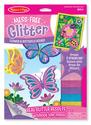 Mess-Free Glitter Flower & Butterfly Scenes