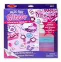 Mess Free Glitter Treasure Box and Jewelry Set