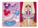 Ballerina Dress-Up Chunky Puzzle - 9 pieces