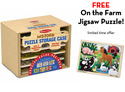 Puzzle Prepack with FREE On the Go Farm Jigsaw Puzzle