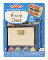 Decorate-Your-Own Wooden Pirate Chest