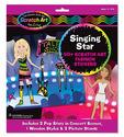 Scratch Art® Fashion Sticker Scenes - Singing Star