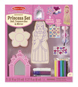 Decorate-Your-Own Wooden Princess Set