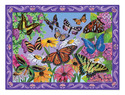 Butterfly Garden Peel & Press Sticker by Numbers