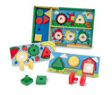 Sort, Match, Attach Nuts & Bolts Boards