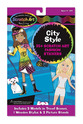 Scratch Art® Fashion Sticker Set - City Style