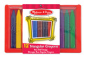 Triangular Crayons - 12 pack