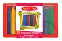 Triangular Crayons - 12 pack