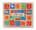 Animal ABC + 123 Wooden Blocks Set