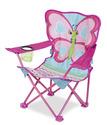 Cutie Pie Butterfly Camp Chair