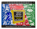 Velvet Sticker Collection - Blue