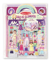 Deluxe Puffy Sticker Album - Day of Glamour