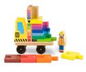 Stack & Count Forklift - Classic Wooden Toy