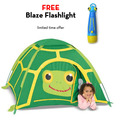 Tootle Turtle Tent with FREE Blaze Flashlight