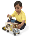 Animal Rescue Shape-Sorting Truck Wooden Toy