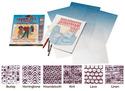 Scratch Art Shade-Tex Rubbing Plates - Textile Set