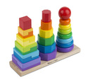 Geometric Stacker Toddler Toy