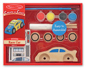 Decorate-Your-Own Race Car