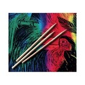 Scratch Art 100 Wood Stylus Tools