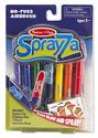 Sprayza No-Fuss Airbrush Tool and Pens - Fish Stencil Set