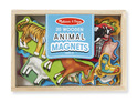 Wooden Animal Magnets