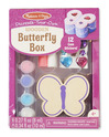 Decorate-Your-Own Wooden Butterfly Box