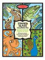 Stained Glass Coloring Pad - Animals