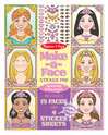 Make-a-Face Sticker Pad - Sparkling Princesses