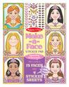 Make-a-Face Sticker Pad - Sparkling Princesses