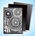 Scratch Art Black Scratchboard Artist Trading Cards