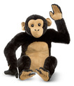 Chimpanzee Giant Stuffed Animal
