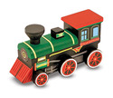 Decorate-Your-Own Wooden Train