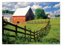 Peaceful Farm Cardboard Jigsaw - 500 Pieces